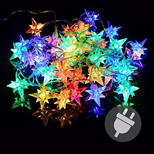 led weihnachtsstern rot adventsstern f r au en kunststoff 55cm mit led lamp 0 3w elknim. Black Bedroom Furniture Sets. Home Design Ideas