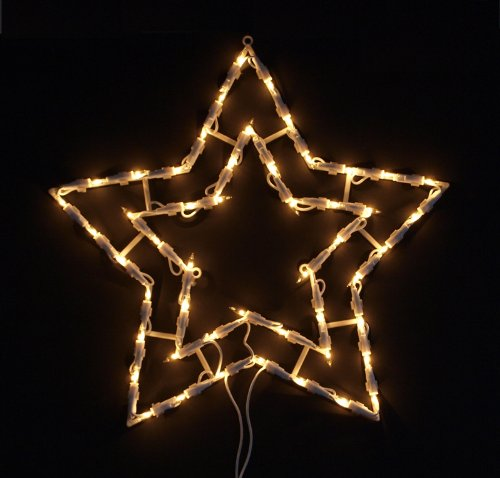 fensterbild beleuchtet 42cm mit 50 led motiv weihnachtsbaum mit saugnapf elknim. Black Bedroom Furniture Sets. Home Design Ideas