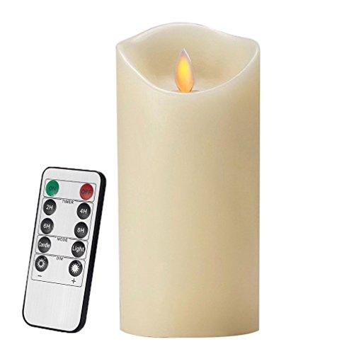 3er pack air zuker led kerzen mit beweglicher flamme echt flammen effekt led echtwachskerzen. Black Bedroom Furniture Sets. Home Design Ideas