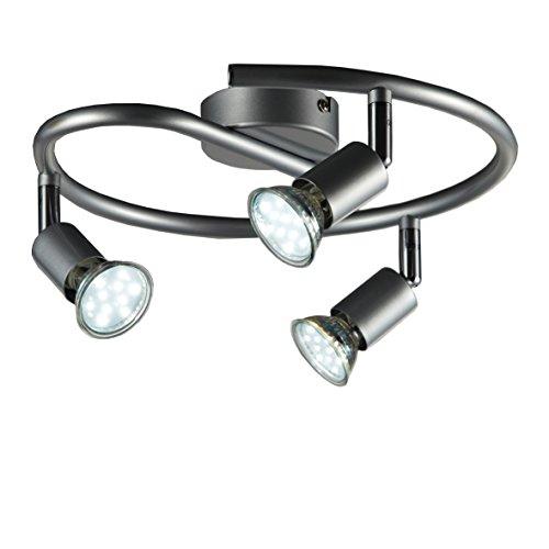 LED Bad Wandleuchte Wandlampe Schwenkbar Spritzwasser