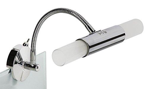 briloner leuchten spiegelleuchte spiegelleuchte badlampe 1xgu10 50w 320lm strahler. Black Bedroom Furniture Sets. Home Design Ideas