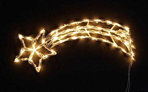 beleuchteter stern 55 60 cm weihnachtsstern leuchtstern. Black Bedroom Furniture Sets. Home Design Ideas