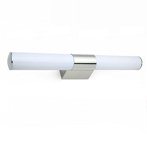 12w spiegelleuchte badleuchte kaltwei badlampe 600mm wandleuchte edelstahl wasserdicht. Black Bedroom Furniture Sets. Home Design Ideas