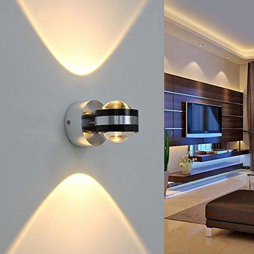 Coocnh 3w led wandleuchte leuchte wandlampe badlampe wandstahler effektlampe badleuchte - Wandlampe babyzimmer ...