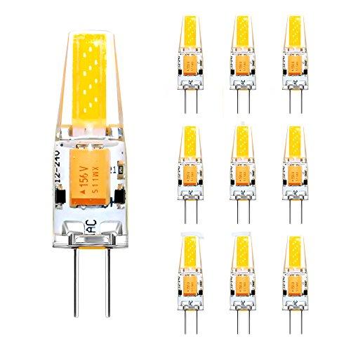 ascher 10er pack g9 led lampe 4w g9 led birnen ersatz f r 40w halogen lampen 450lm warmwei. Black Bedroom Furniture Sets. Home Design Ideas