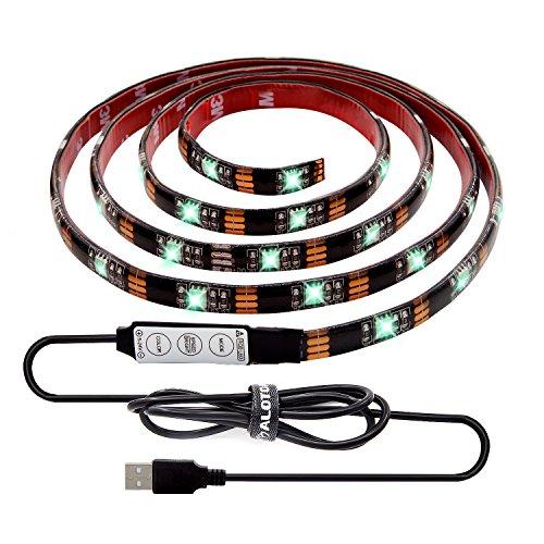 led strip licht streifen 2m wasserdicht wechselnde farben rgb smd5050 led leiste mit rf. Black Bedroom Furniture Sets. Home Design Ideas