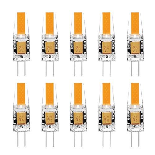 ascher 10er pack gu10 led lampe gu10 5w cob led leuchtmittel ersatz f r 60w halogen lampen. Black Bedroom Furniture Sets. Home Design Ideas