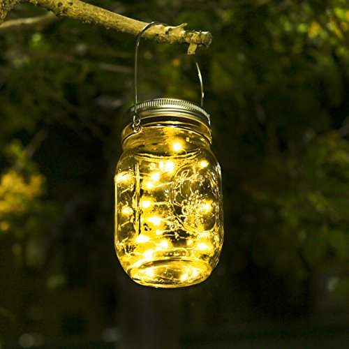 Led solarleuchten garten mason jar licht garten licht gartendeko solar wasserdichte - Licht fur garten ...