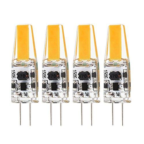 yuiip 10er pack g4 led warmweiss 2800k 2w led lampen ersatz f r 20w halogenlampen led. Black Bedroom Furniture Sets. Home Design Ideas