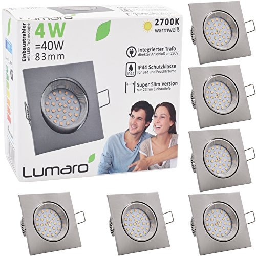 5watt deckenstrahler f r bad dusche aussenbereich - Deckenstrahler fur badezimmer ...