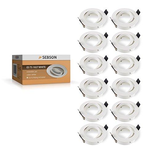 ip44 alu feuchtraum badezimmer einbaurahmen wei terrassen berdachung beleuchtung mit. Black Bedroom Furniture Sets. Home Design Ideas