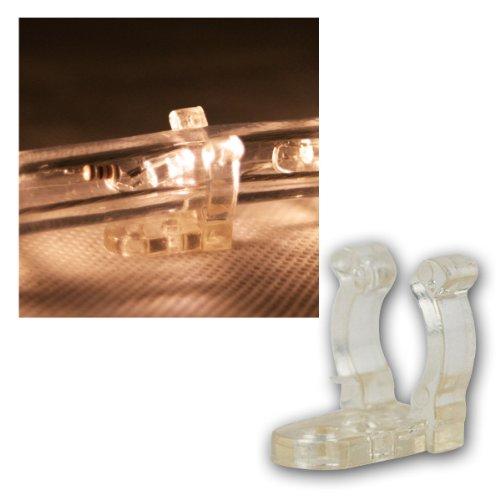 le 10m led lichterschlauch 240 leds wasserfest warmwei f r innen au en party hochzeit. Black Bedroom Furniture Sets. Home Design Ideas