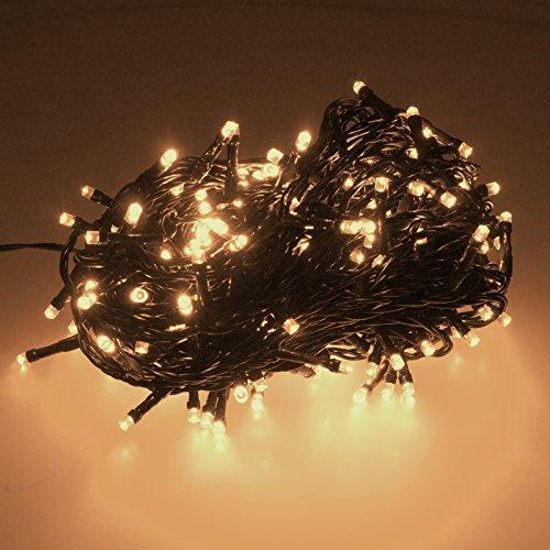 smartfox 300 led 30m warmwei lichterkette weihnachtsbeleuchtung weihnachtsdekoration. Black Bedroom Furniture Sets. Home Design Ideas