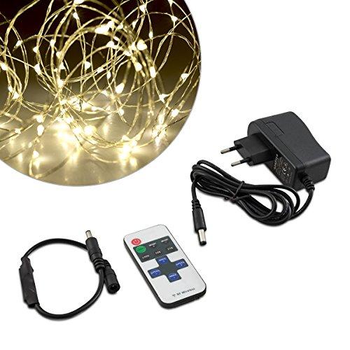 aglaia led lichterkette kupferdraht dimmbar sternenlichter. Black Bedroom Furniture Sets. Home Design Ideas