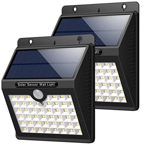 Luposwiten 82 Led Solarlampen Mit Bewegungsmelder 24 Solarleuchten Für Außen