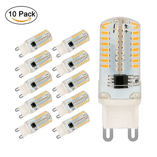 10er pack led lampe g9 jpodream 5watt 64x 3014smd g9 led birnen 450lm ersatz f r 45w. Black Bedroom Furniture Sets. Home Design Ideas