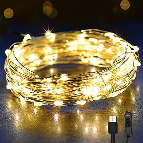 Analytisch Led-streifen Lichterketten Kupferdraht 10 Mt 100 Leds Usb Batterie Wasserdichte Rgb Hochzeit Decora Party Weihnachten Blink Fee Lichter Led-streifen
