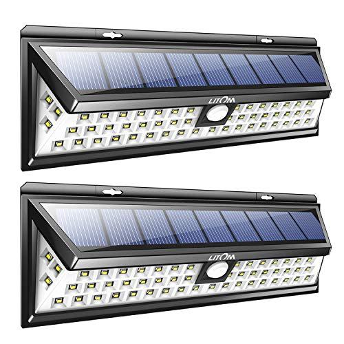 Außenbeleuchtung Romantisch 1 Stücke Solar Power 3 Leds Freien Wasserdichte Led-licht-garten-bahn Treppe Licht Energiesparende Led Lampen Urlaub Beleuchtung Kalt Weiß