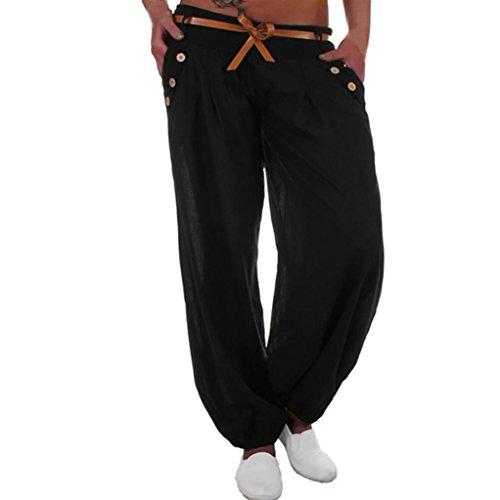 GroßZüGig Italy Moda Chino Stoff Hose Pants Baggy Boyfriend Stern Blumen Print 38-40 Fest In Der Struktur Jeans