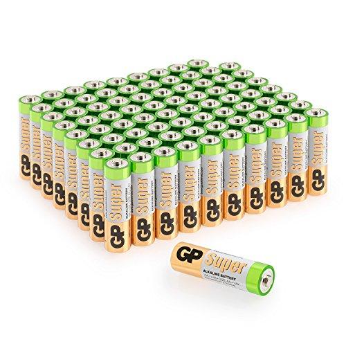 Besonders Reinweiß Und LichtdurchläSsig Gp Batterien Aaa Super Alkaline Vorratspack micro Lr03 24a