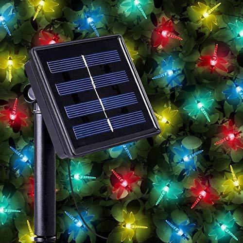 GroßZüGig Ledgle Halloween Lichterkette 6m Solar Halloween Dekoration Licht Warmes Weiß, Beleuchtung