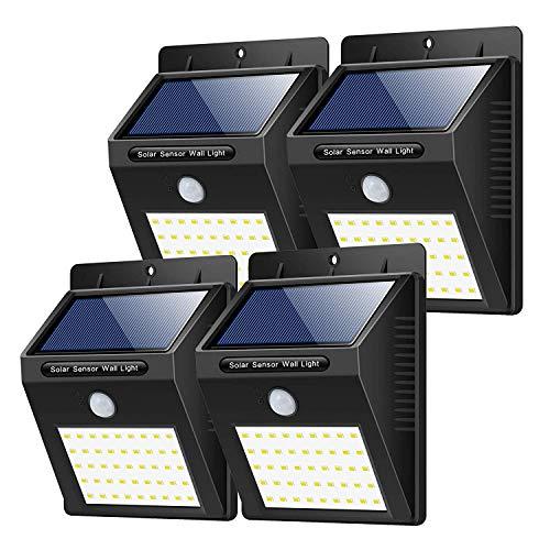 2_stÜck ..33_led..superhelles_solarlampen..mit Hochglanzpoliert Trswyop..solarleuchten_außen????..