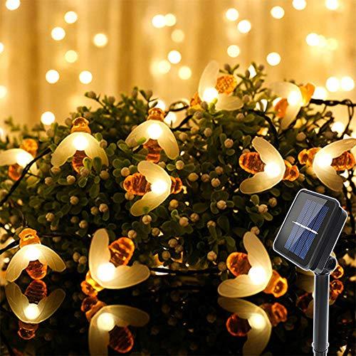 Decken- & Wandleuchten GroßZüGig Ledgle Halloween Lichterkette 6m Solar Halloween Dekoration Licht Warmes Weiß,